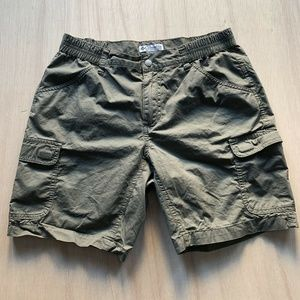 Columbia Cargo Hiking Travel Shorts Womens Size Sm